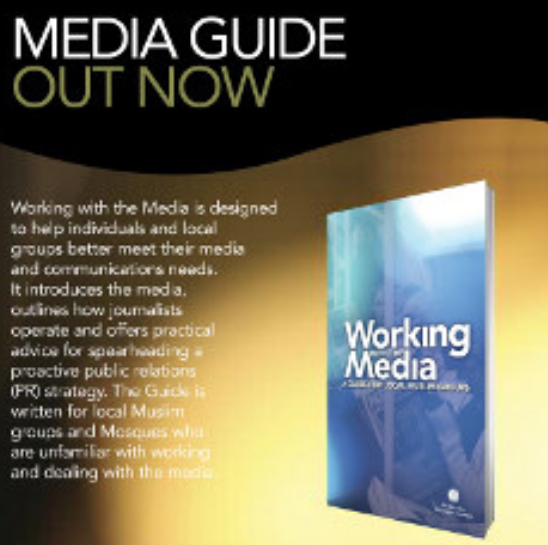 Working with the media: A guide for muslim groups