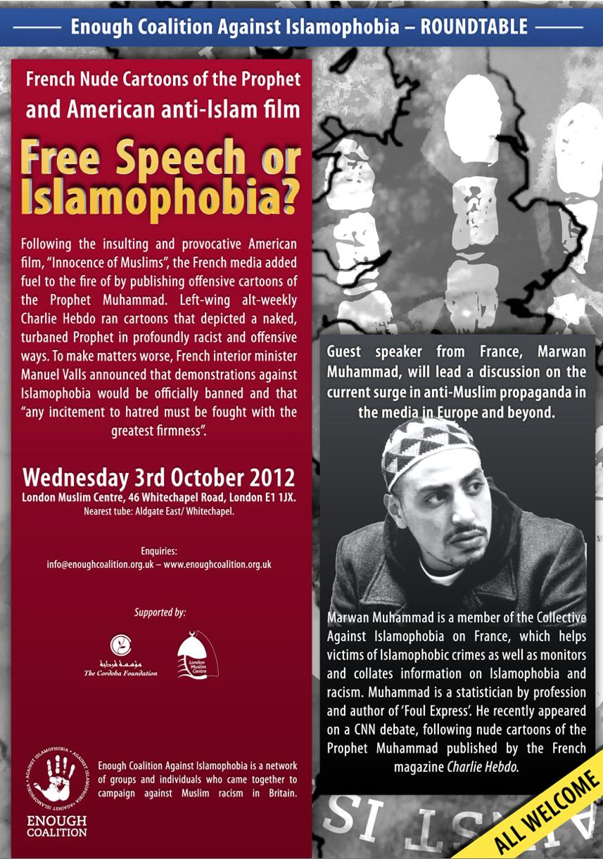 Roundtable: Free Speech or Islamophobia