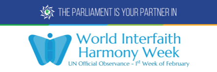News Release: Commemorating World Interfaith Harmony Week