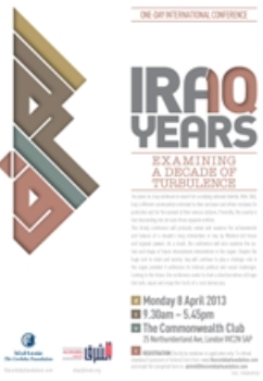 News Release: Iraq 10: Examining a Decade of Turbulence – Post Conference Report