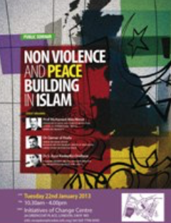 Event Report: Non-Violence and Peace Building in Islam