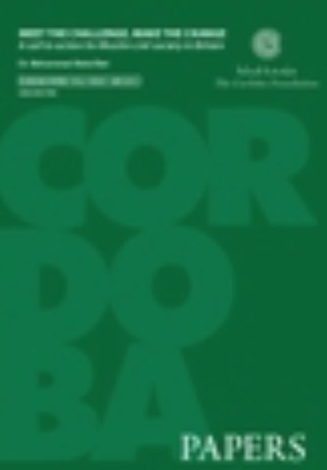 Event Report: Launch of Cordoba Papers – A Call to Action for Muslim Civil Society in Britain