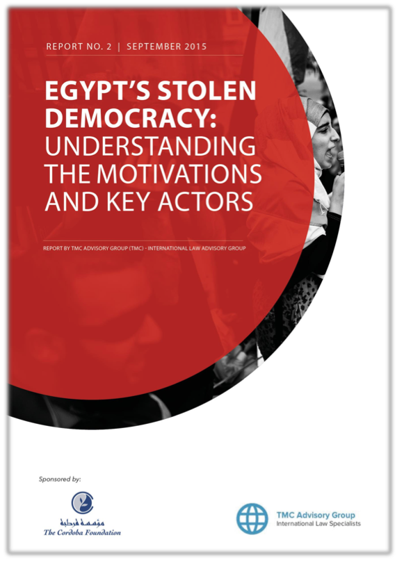 (New Report) Egypt's Stolen Democracy