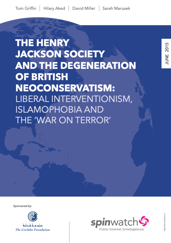 The Henry Jackson Society and the Degeneration of British Neoconservatism
