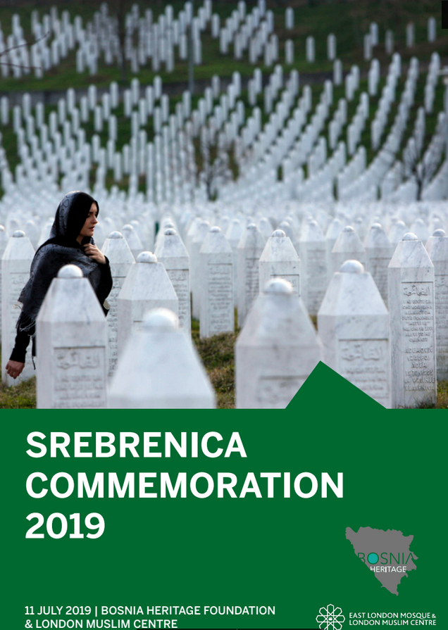 SREBRENICA COMMEMORATION 2019