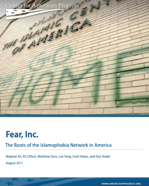 Fear, Inc. – The Roots of the Islamophobia Network in America