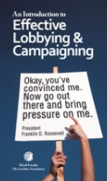 Event Report: Launch of 'An Introduction to Effective Lobbying & Campaigning'