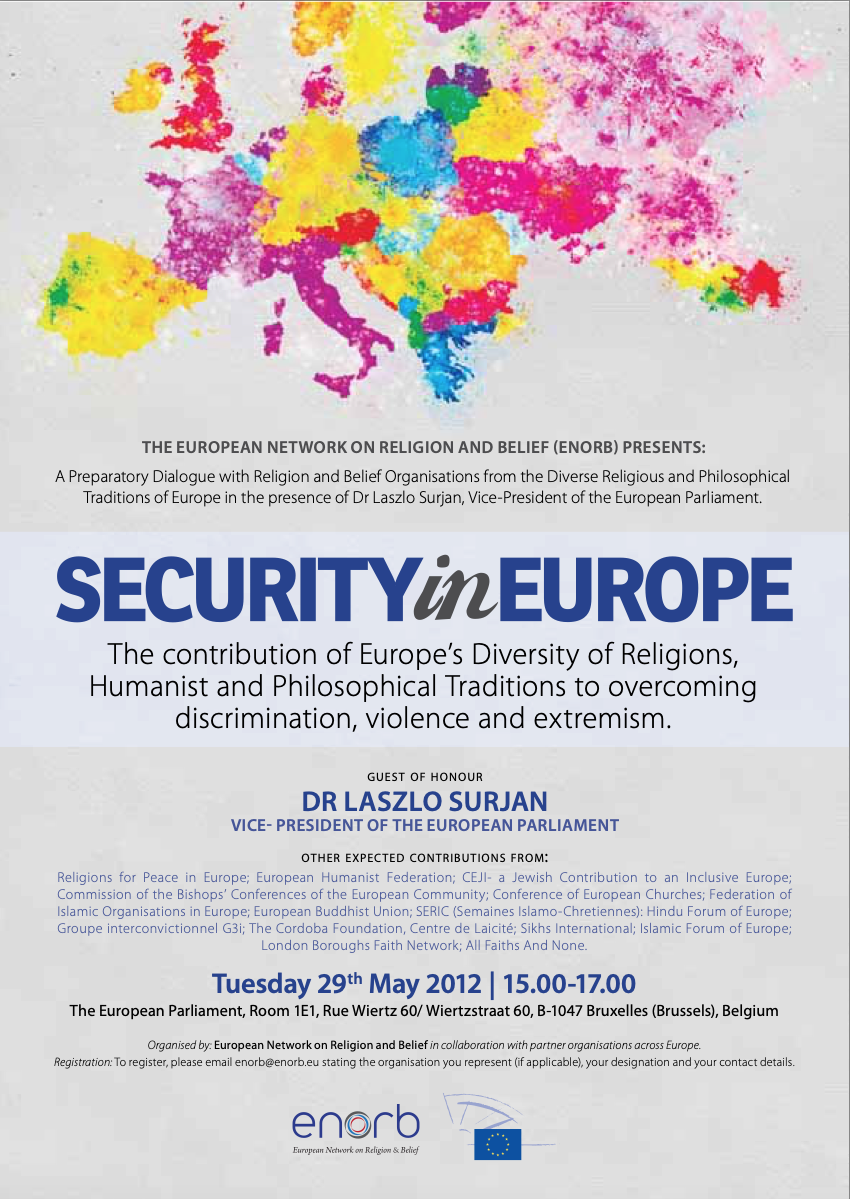 Roundtable / Reception – Security in Europe