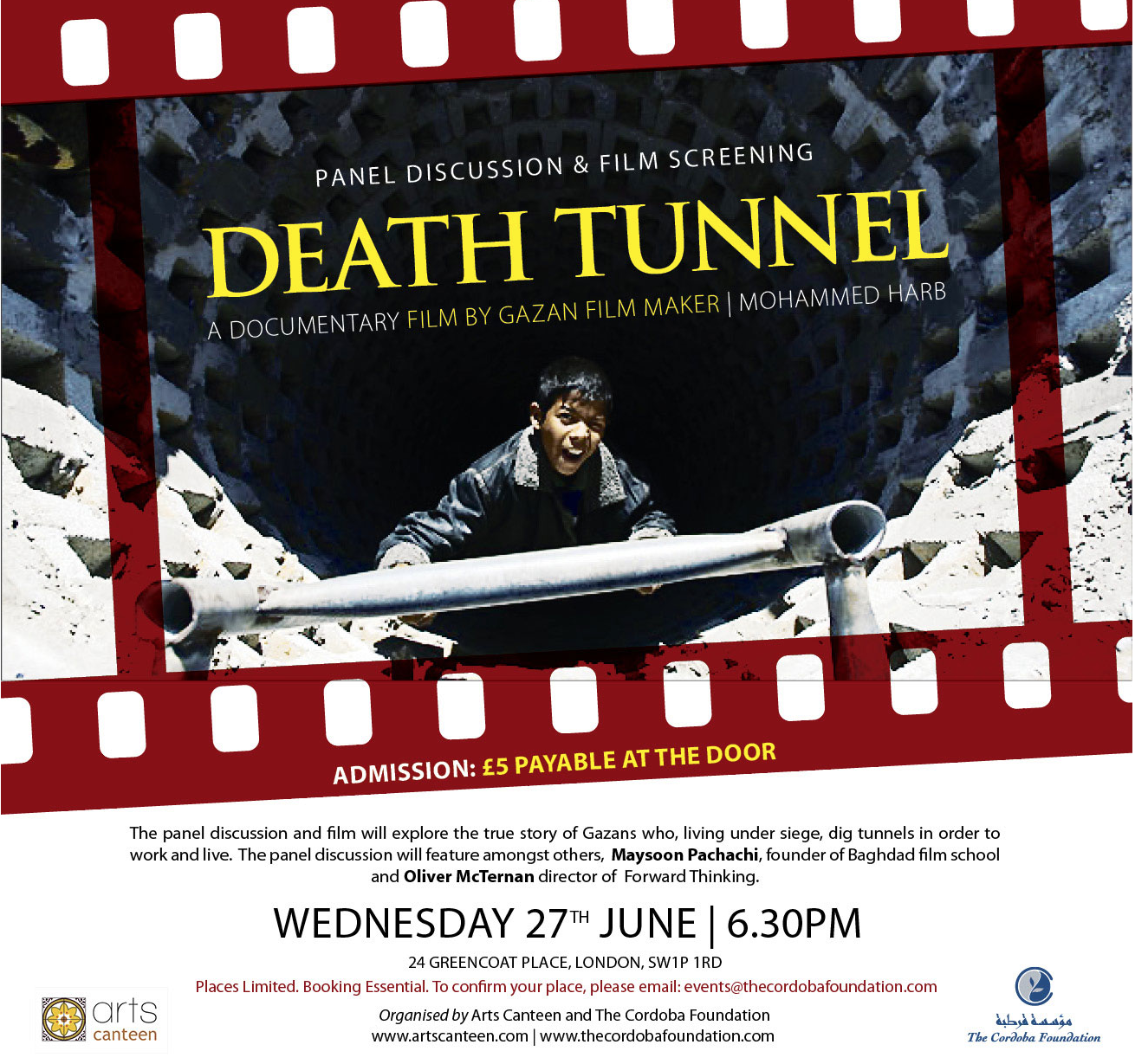 Film Screening and Panel Discussion: DEATH TUNNEL