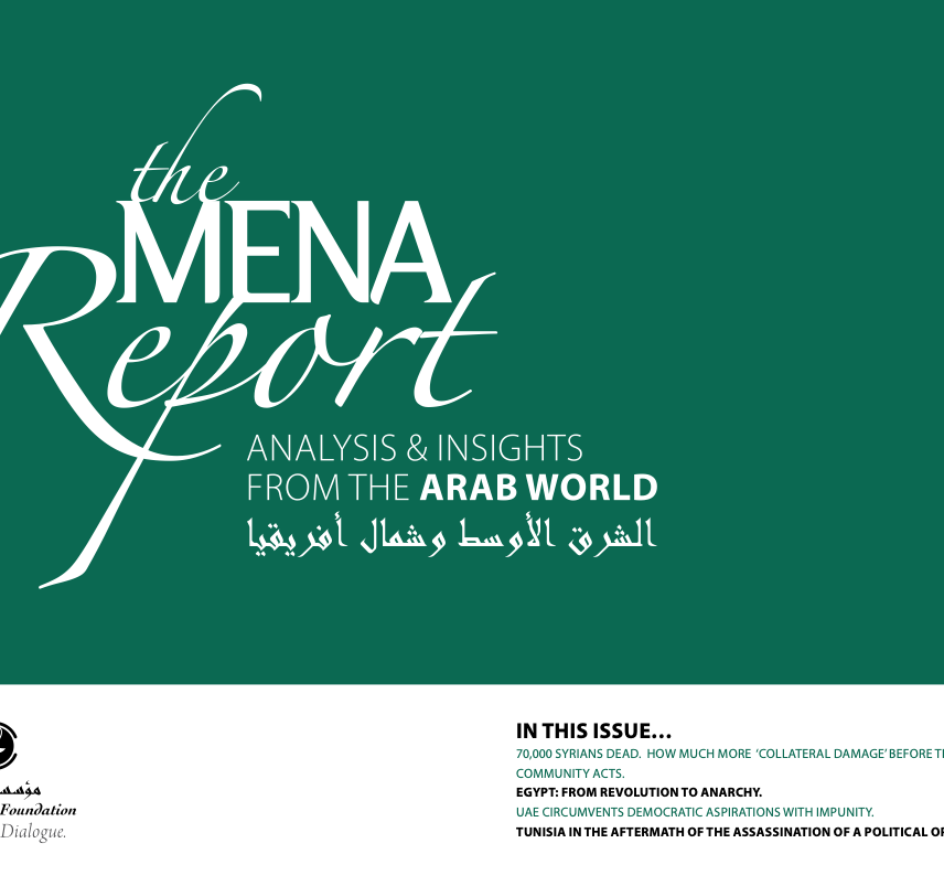 The MENA Report – Analysis and Insights from the Arab World (Vol1 Issue 2)