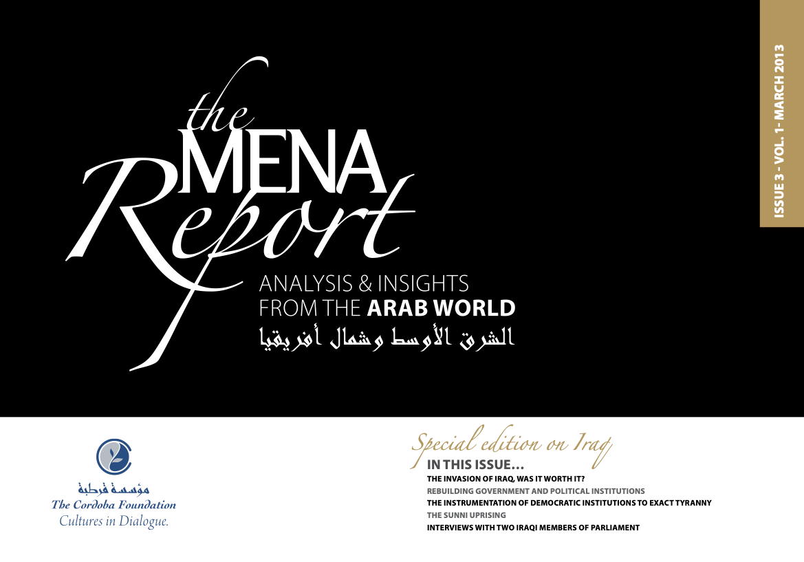 The MENA Report – Analysis and Insights from the Arab World (Vol1 Issue 3)