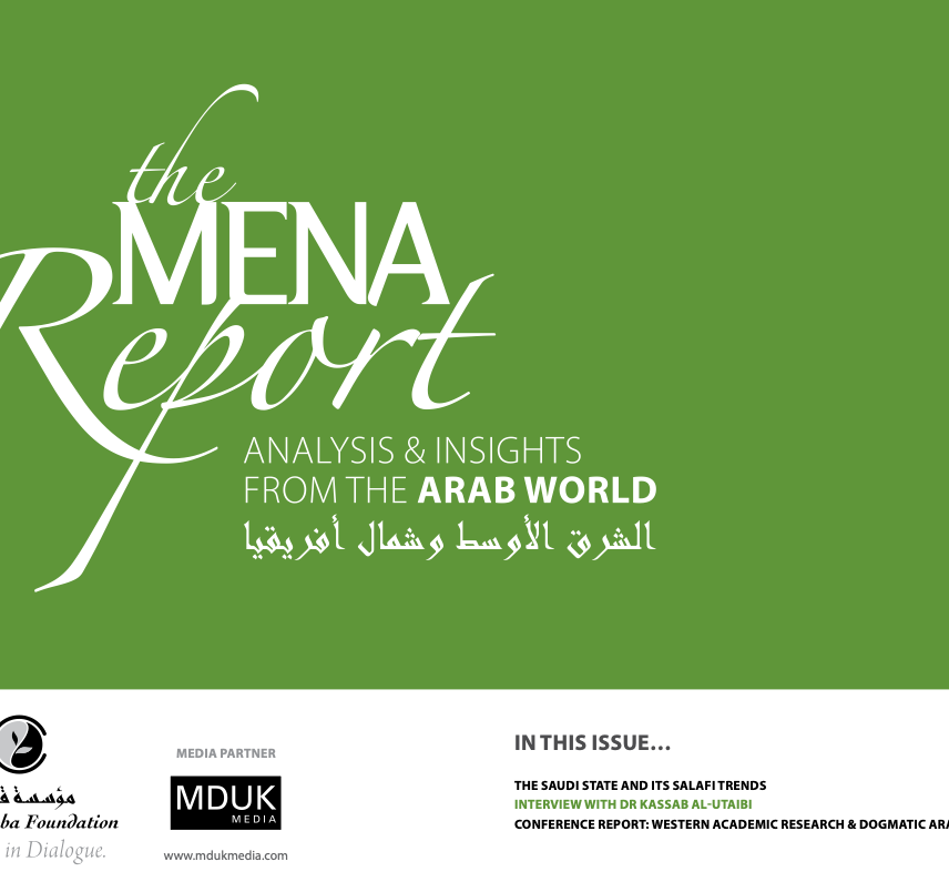 The MENA Report – Analysis and Insights from the Arab World (Vol 1 Issue 9)