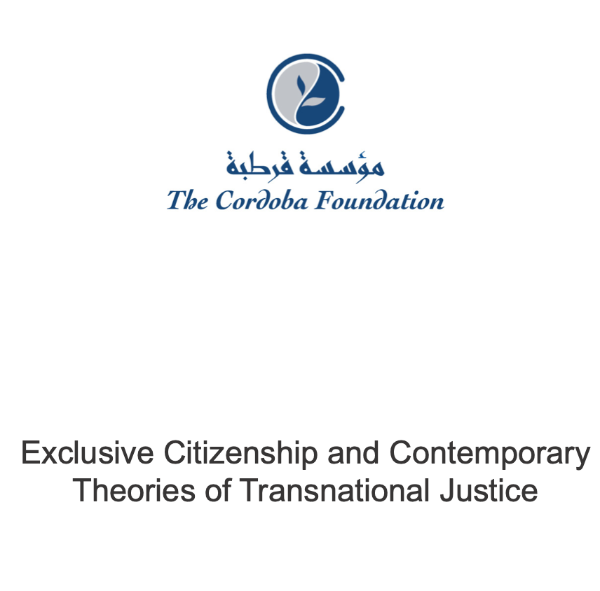 Event Report: Exclusive Citizenship and Contemporary Theories of Transnational Justice