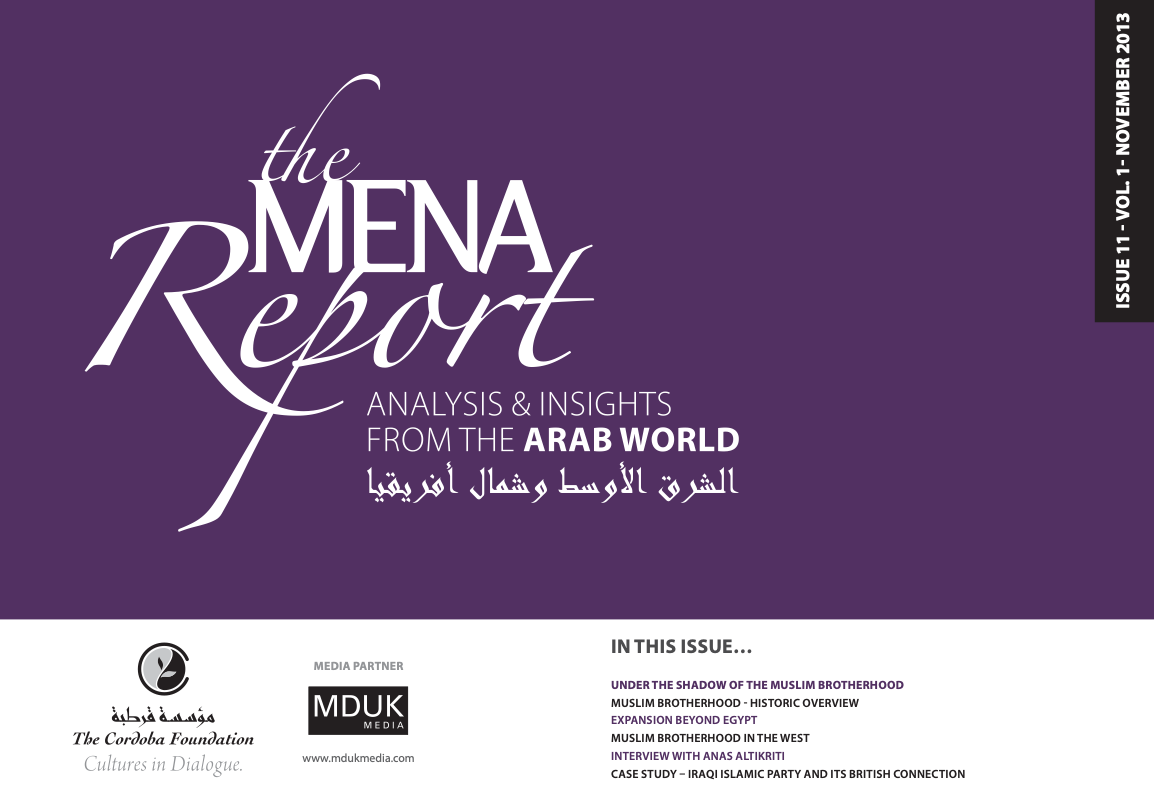 The MENA Report – Analysis and Insights from the Arab World (Vol 1 Issue 11)