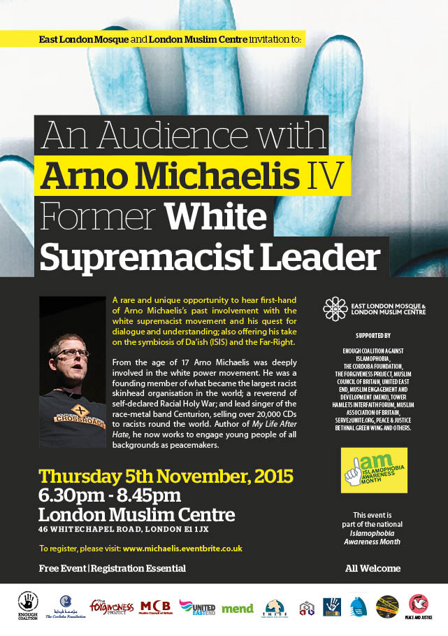 An Audience with Arno Arr Michaelis IV – Former White Supremacist Leader