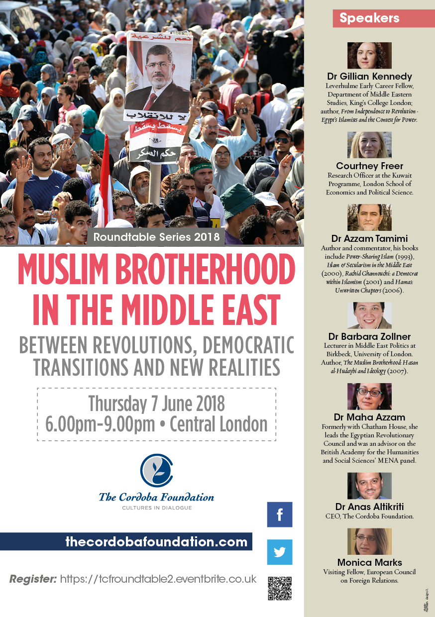 MUSLIM BROTHERHOOD IN THE MIDDLE EAST – BETWEEN REVOLUTIONS, DEMOCRATIC TRANSITIONS AND NEW REALITIES (video)