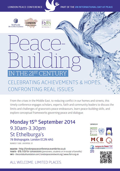 Peace Conference: Peace-Building in the 21st Century