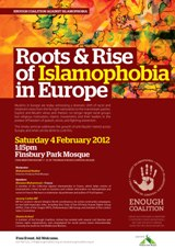 Seminar: ROOTS AND RISE OF ISLAMOPHOBIA IN EUROPE