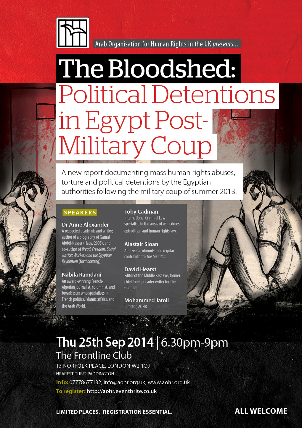 THE BLOODSHED: Political Detentions in Egypt Post-Military Coup