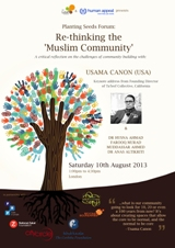 Forum: Re-thinking the 'Muslim Community'