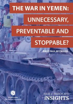 THE WAR IN YEMEN: UNNECESSARY, PREVENTABLE AND STOPPABLE?