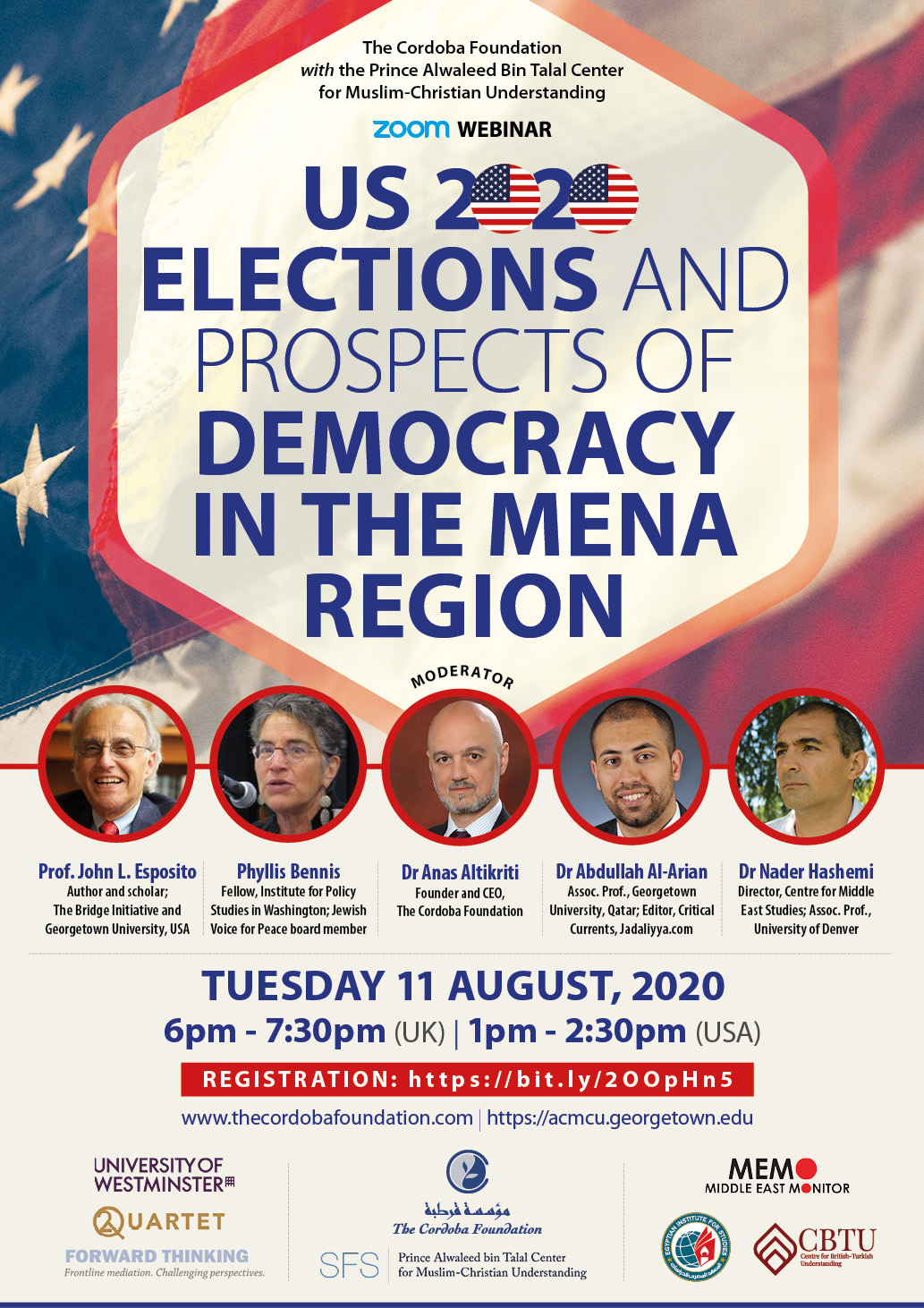US 2020 ELECTIONS AND PROSPECTS OF DEMOCRACY IN THE MENA REGION