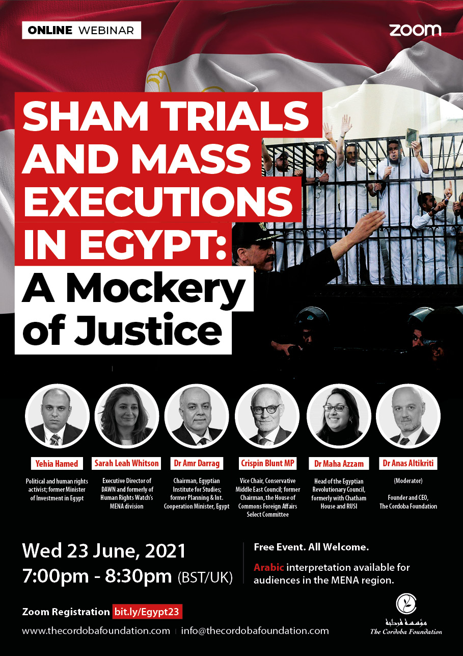 Sham Trials and Mass Executions in Egypt: A Mockery of Justice